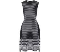 Gestreiftes Kleid in A-Linie