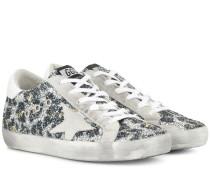 Sneakers Superstar mit Glitter
