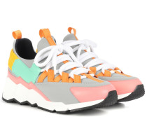 Sneakers Trek Comet mit Lederanteil