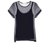 T-Shirt Domino aus Seide