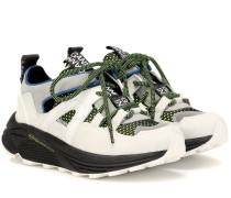 Sneakers Brooklyn mit Leder