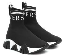 Sneakers aus Stretch-Strick