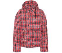 Gesteppte Jacke aus Tweed