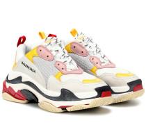 Sneakers Triple S mit Leder
