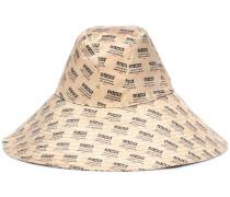 Bedruckter Hut aus Seide