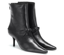 Ankle Boots Groupie Knot aus Leder