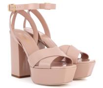 Sandalen Farrah 80 aus Lackleder