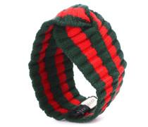 Stirnband aus Rippstrick