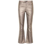 High-Rise Flared Jeans Selena