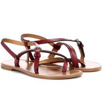 Sandalen Jingo aus Leder