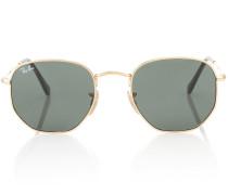 Sonnenbrille Hexagonal