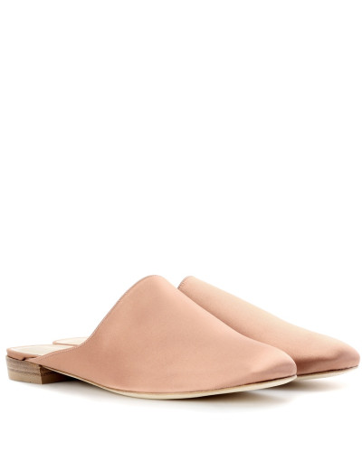 Mules Mulearky aus Satin