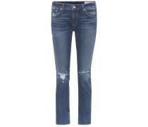 Mid-Rise Jeans Dre Capri