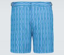 Jacquard-Shorts Bulldog X
