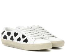 Sneakers SL/06 Court Classic aus Leder