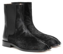 Ankle Boots Tabi mit Leder