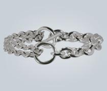 Doppel-Armband aus Sterlingsilber