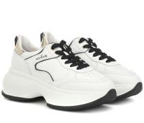 Sneakers Maxi I Active aus Leder