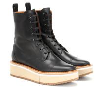 Ankle Boots British aus Leder
