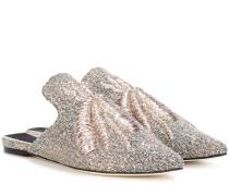 Bestickte Slippers