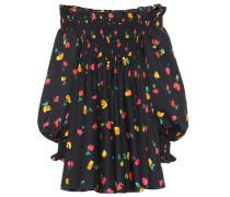 Off-Shoulder-Kleid Kora aus Baumwolle