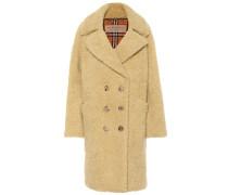 Mantel aus einem Schurwollgemisch