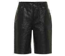 Shorts Jami aus Leder