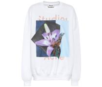 Sweatshirt mit Baumwollanteil