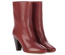 Ankle Boots Darilay aus Leder