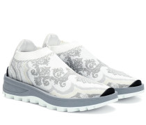 Sneakers aus Jacquard