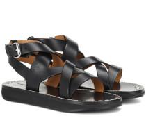 Sandalen Noelly aus Leder
