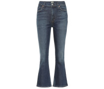 High-Rise Flared Jeans Demy