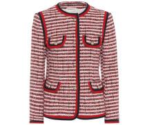 Jacke aus gestreiftem Tweed