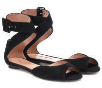 Sandalen Jerry aus Veloursleder