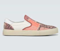 Slip-On Sneakers Bandana