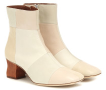 Ankle Boots Yuki aus Leder