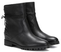 Ankle Boots Panther aus Leder