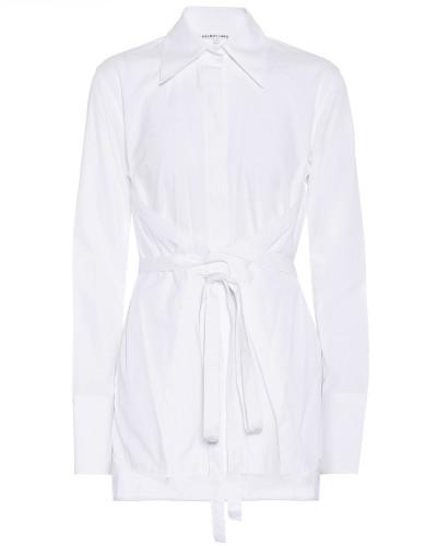 Hemd Korset mit Schnürung aus Baumwolle