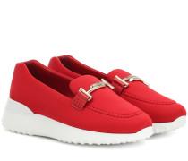 Loafers Double T aus Neopren