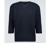 Pullover mit verkürztem Ärmel