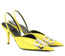 Slingback-Pumps BB aus Satin