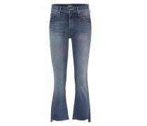 Jeans Insider Crop Step Fray