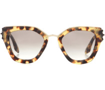 Sonnenbrille mit Acetatrahmen