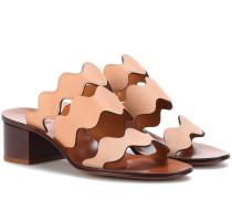 Sandalen Lauren aus Leder