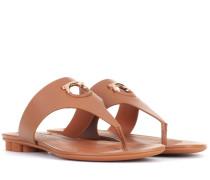 Sandalen Nfola aus Leder