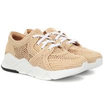 Sneakers Silvi aus Bast