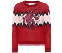 X Keith Haring Pullover aus Wolle und Cashmere