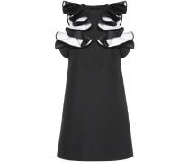 Kleid Double Ruffle Shift aus einem Baumwollgemisch