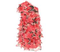 Bedrucktes Minikleid aus Chiffon