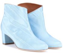 Exklusiv bei mytheresa – Ankle Boots Eula aus Moiré